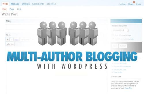 multi-author-blogging-wordpress
