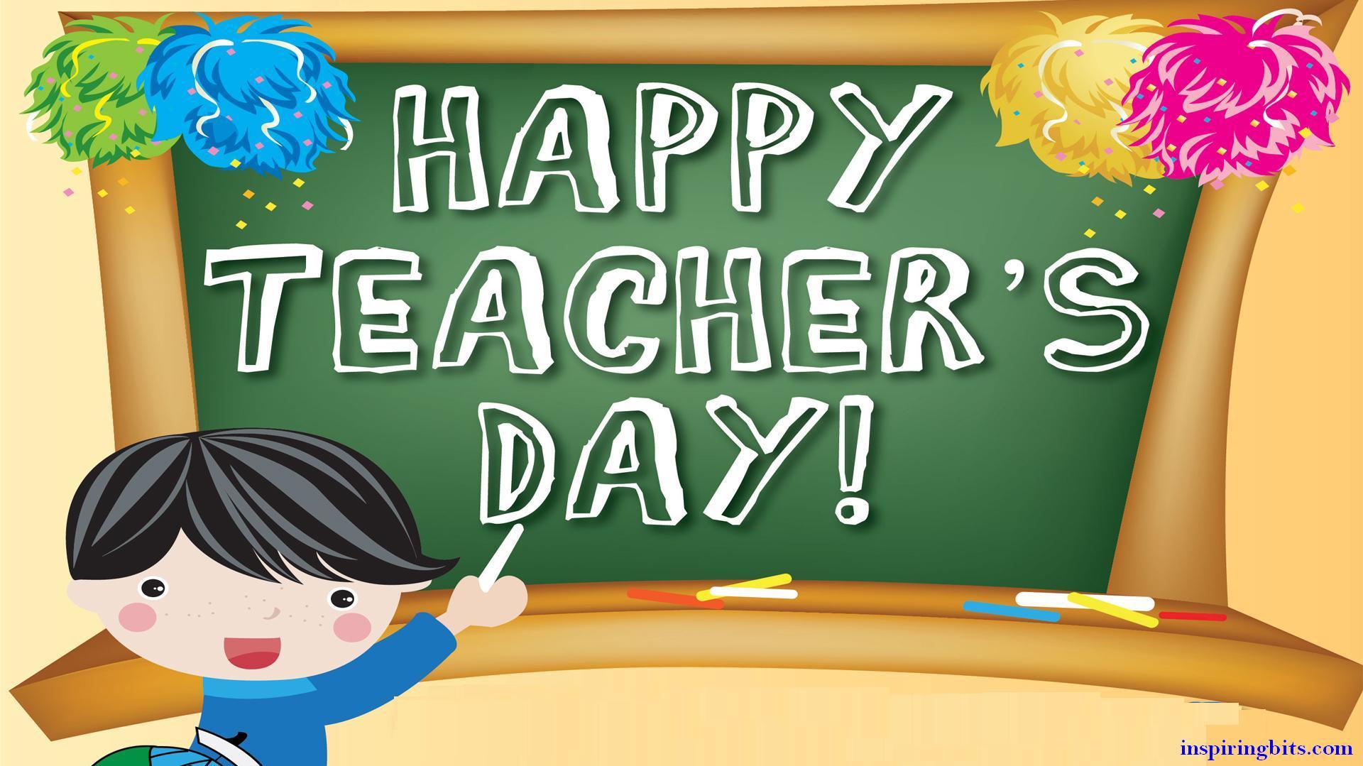 Teacher's Day - День учителя 2015