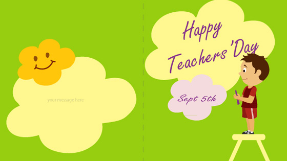 Teachers day greetings 10 beautiful teachers day cards teachers day greeting card 4 m4hsunfo