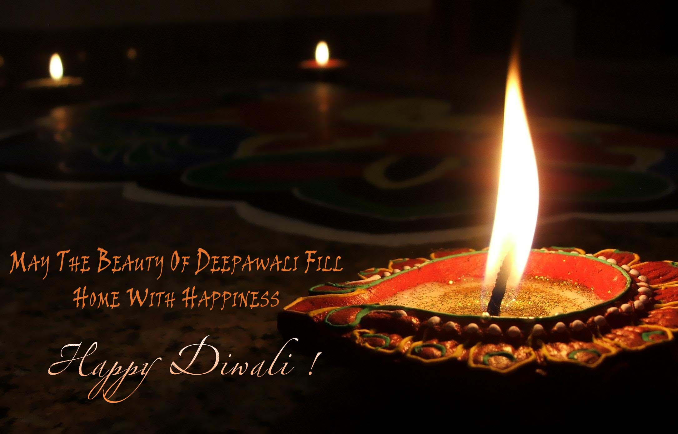 Awesome happy diwali greetings 10 beautiful happy day cards happy diwali wallpaper greetings 3 kristyandbryce Images