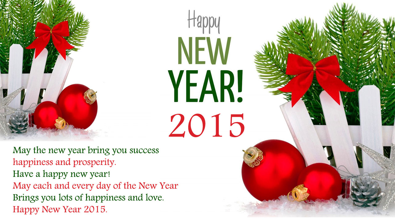 Happy New Year Greeting Cards -