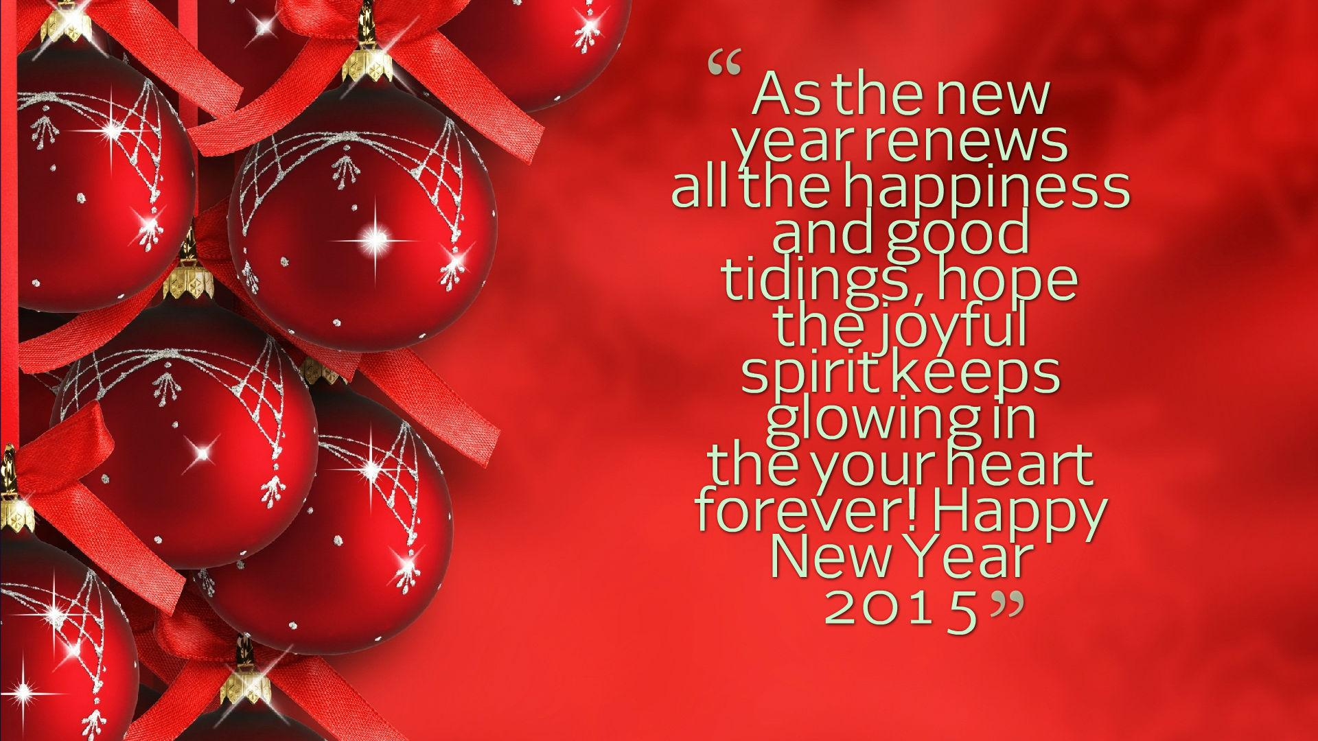 Happy new year greeting cards happy new year 2015 quotes wallpaper kristyandbryce Gallery